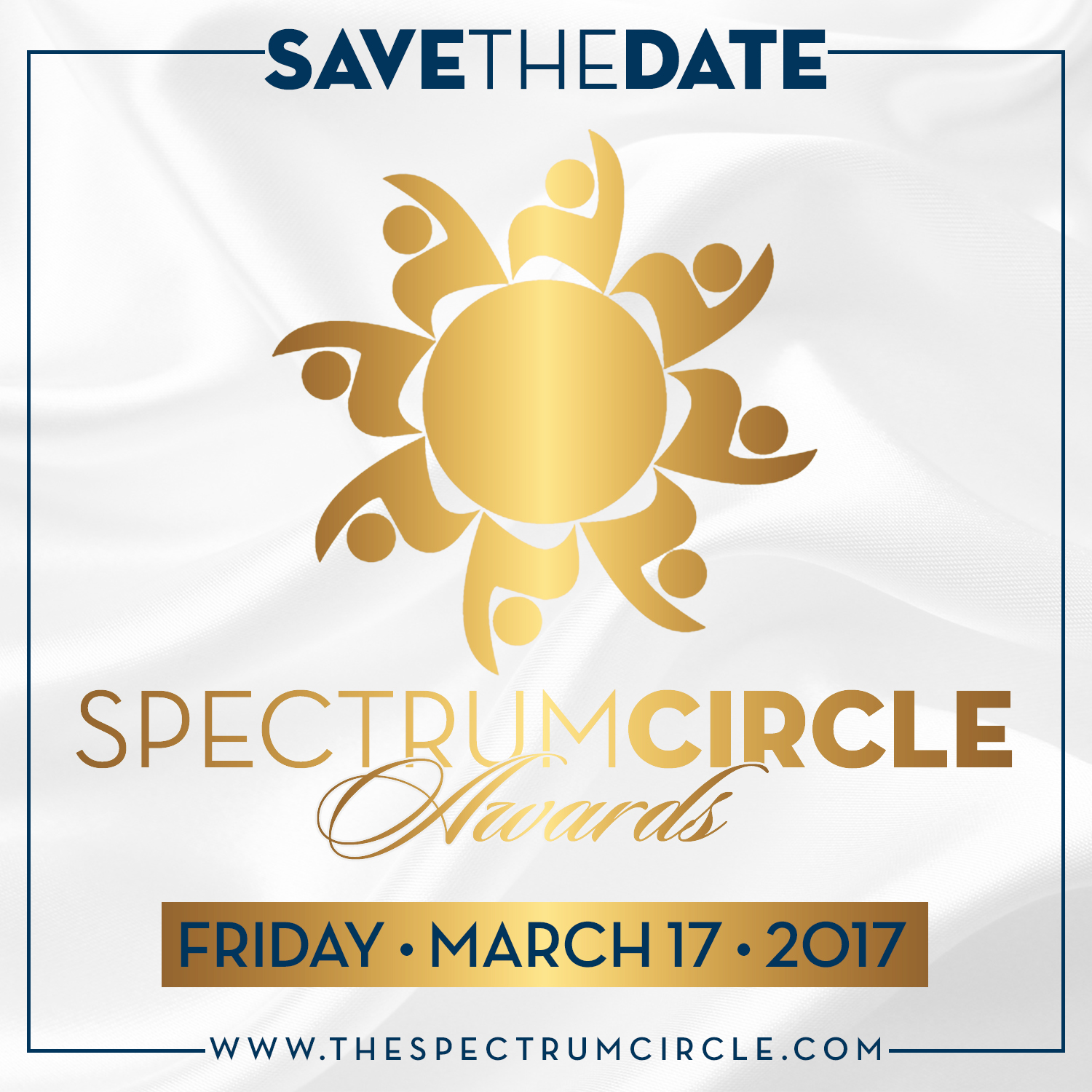 2017 Spectrum Circle Awards, Save the Date Flyer