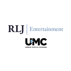 RLJ Entertainment. UMC Urban Movie Channel. logo